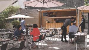 Terrasse Restaurant Chez Françoise